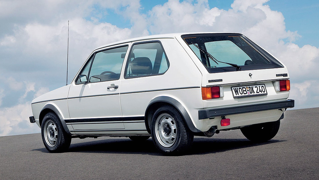 Looking back at the Mk1 Volkswagen Golf GTI  Standout Cars